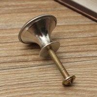 24/28mm Stainless Steel Satin Nickel Kitchen Cabinet Pull ...
