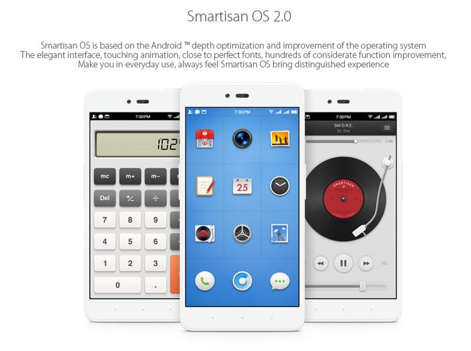 Smartisan YQ601 cellphone