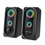 Στα €19 από αποθήκη Κίνας | BlitzWolf BW GT1 Computer Game Dual Speakers Powerful Bass 360 Stereo Sound Mini Size USB+AUX Connection RGB Light