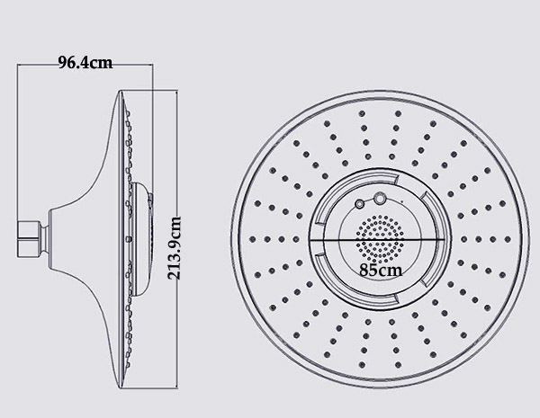 Waterproof bluetooth shower speaker instructions