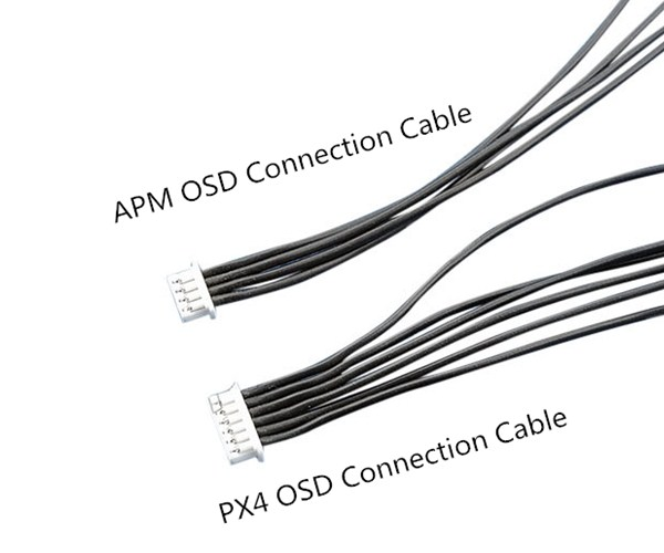 OSD Connection 28AWG Silicone Cable For APM2.6/2.8 PIX PX4