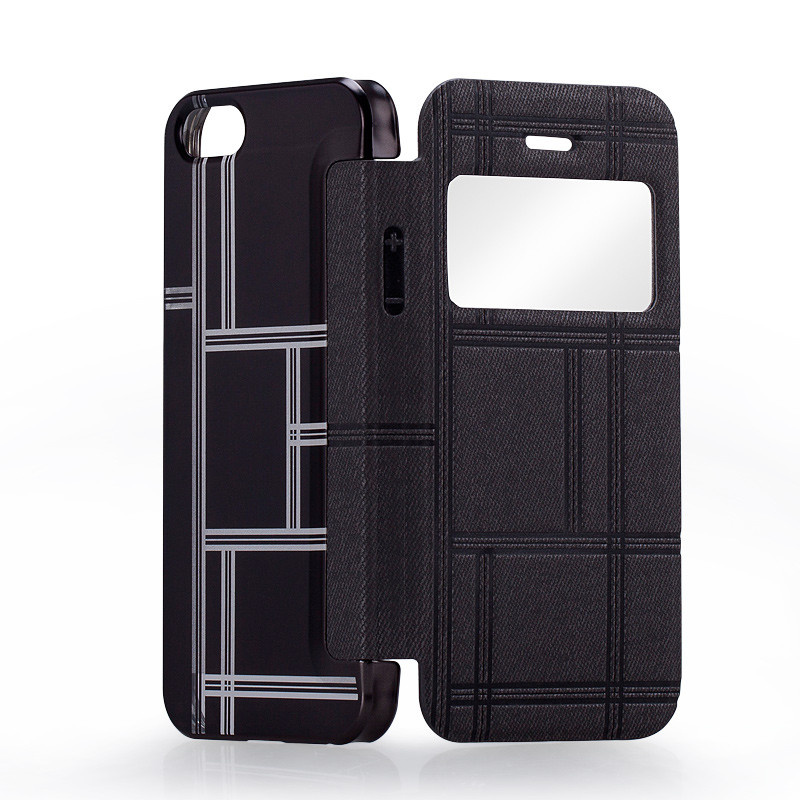 MOMAX Smart Window View Flip PU Leather Case