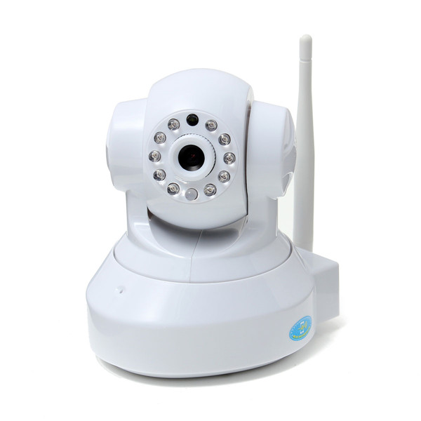 SUNLUXY 1.0 Megapixel 720P Wireless Network Webcam CCTV IP Security Camera with Two-way 16