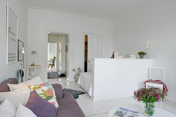 splitting living room into bedroom ideas 2018 modern jak wydzielić miejsce na sypialnie w salonie - zdjęcie ...