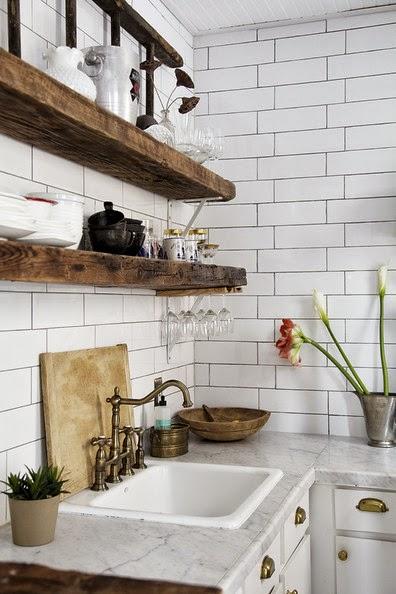 wooden kitchen plate rack cabinet average cost for remodel płytka glazurowana a`la biala cegła,dębowe - zdjęcie w ...