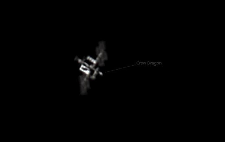 Retratan desde Puerto Rico la nave espacial Crew Dragon