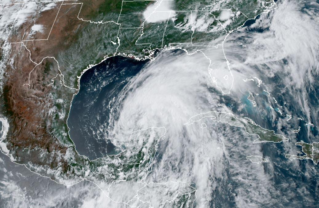 Tormenta Tropical Cristóbal ya está en ruta hacia Estados Unidos