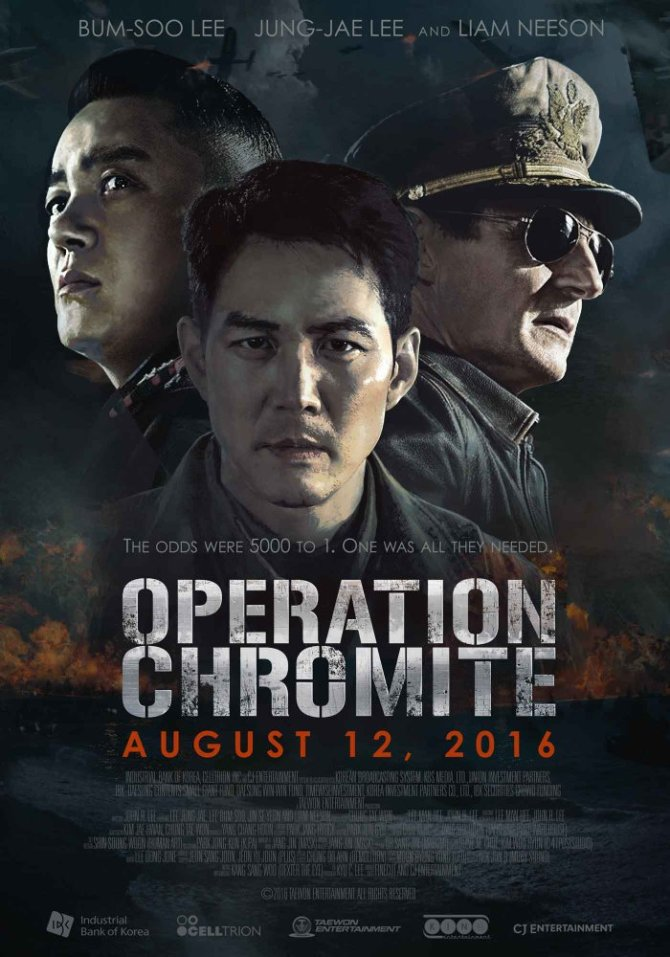 Operation Chromite (2016) SUBBED 720p WEBRip 799 MB