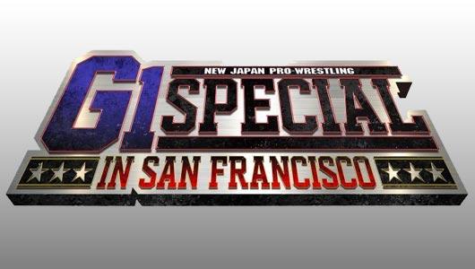 watch njpw g1 special in san francisco 7/7/2018