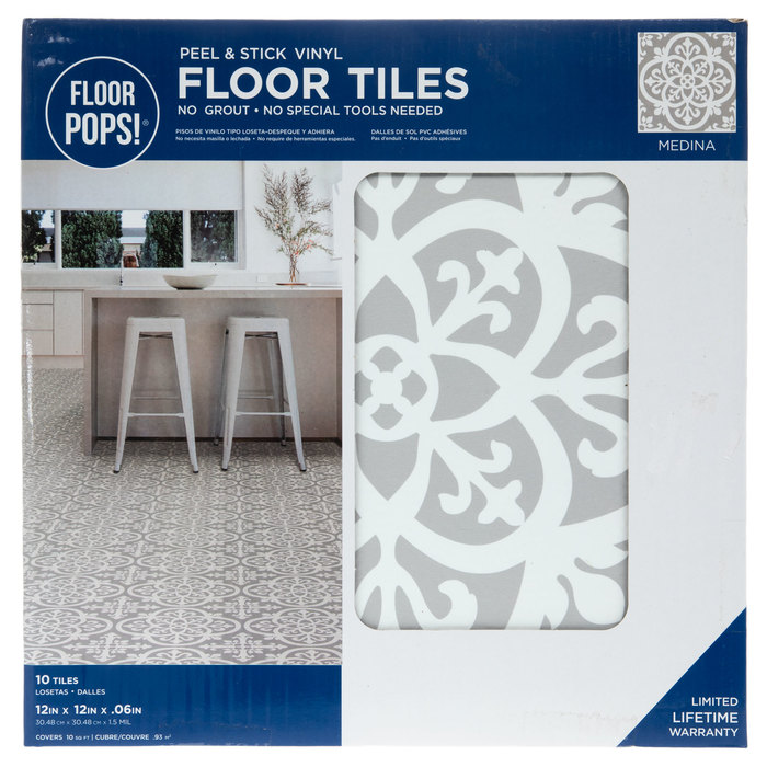 medina peel stick vinyl floor tiles