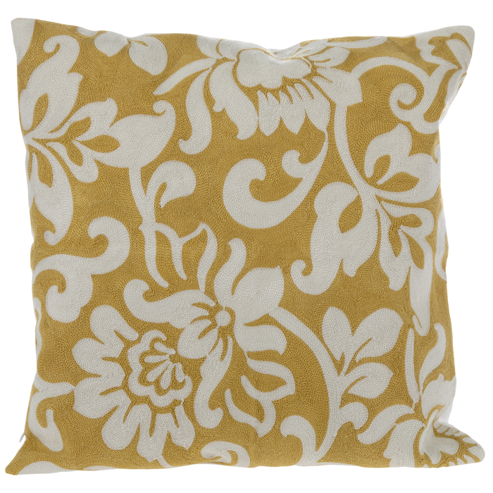 yellow white floral pillow cover hobby lobby 1834340
