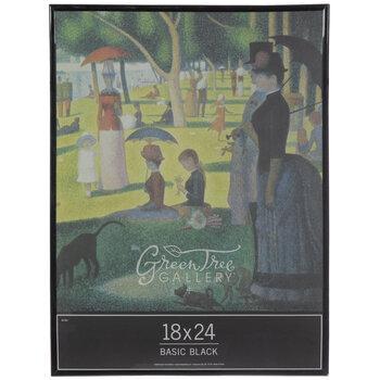 black basic wall frame 18 x 24
