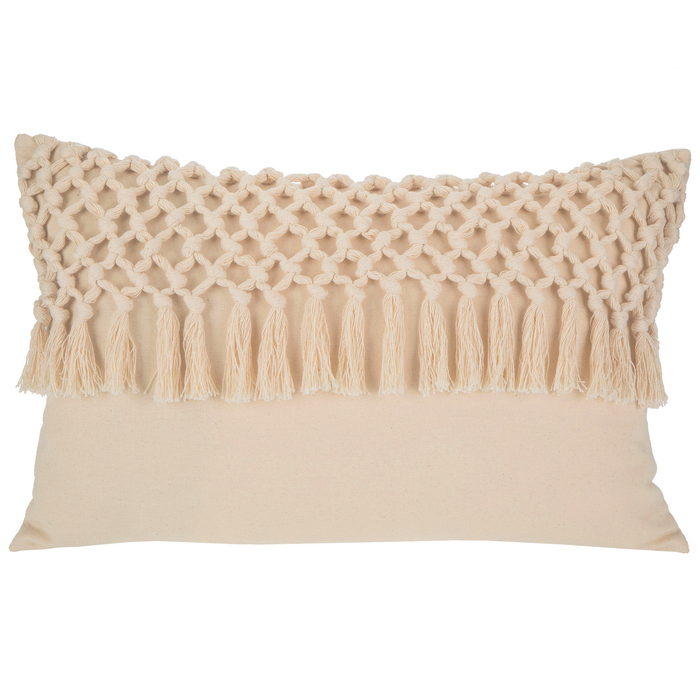natural macrame pillow cover hobby lobby 1683655