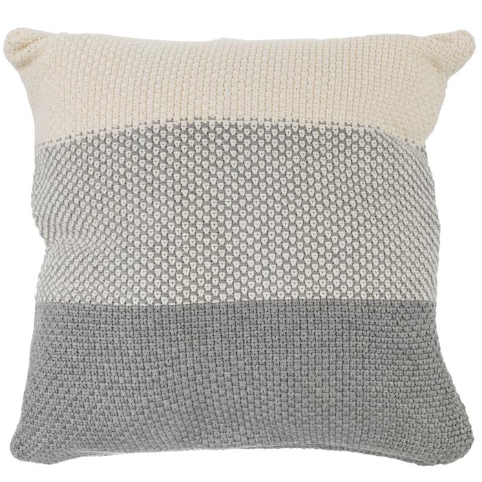 gray cream knitted pillow cover hobby lobby 1699735