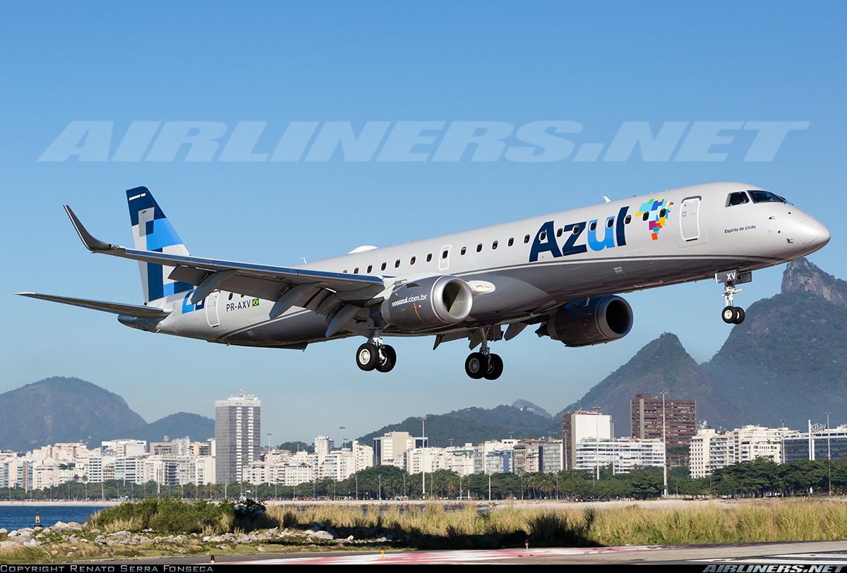 Embraer 195AR ERJ190200IGW Azul Linhas Aereas
