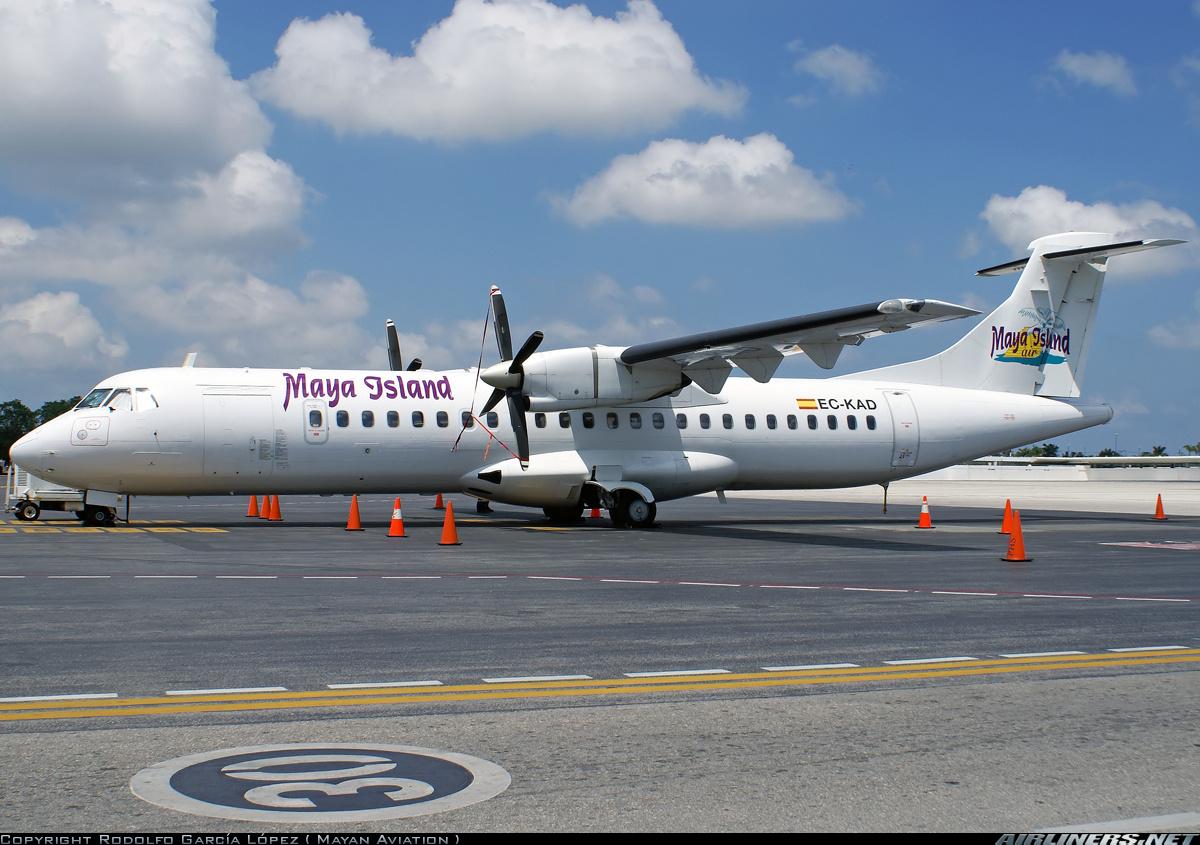 ATR ATR-72-202 - Maya Island Air (Swiftair) | Aviation ...