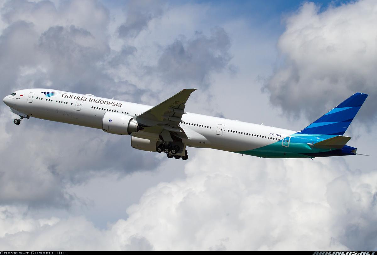 Boeing 7773U3ER  Garuda Indonesia  Aviation Photo