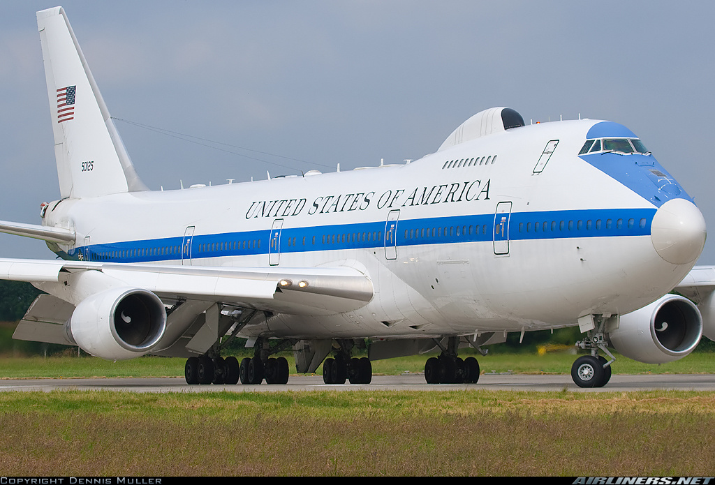 Boeing E-4B (747-200B) - USA - Air Force | Aviation Photo #1550233 | Airliners.net