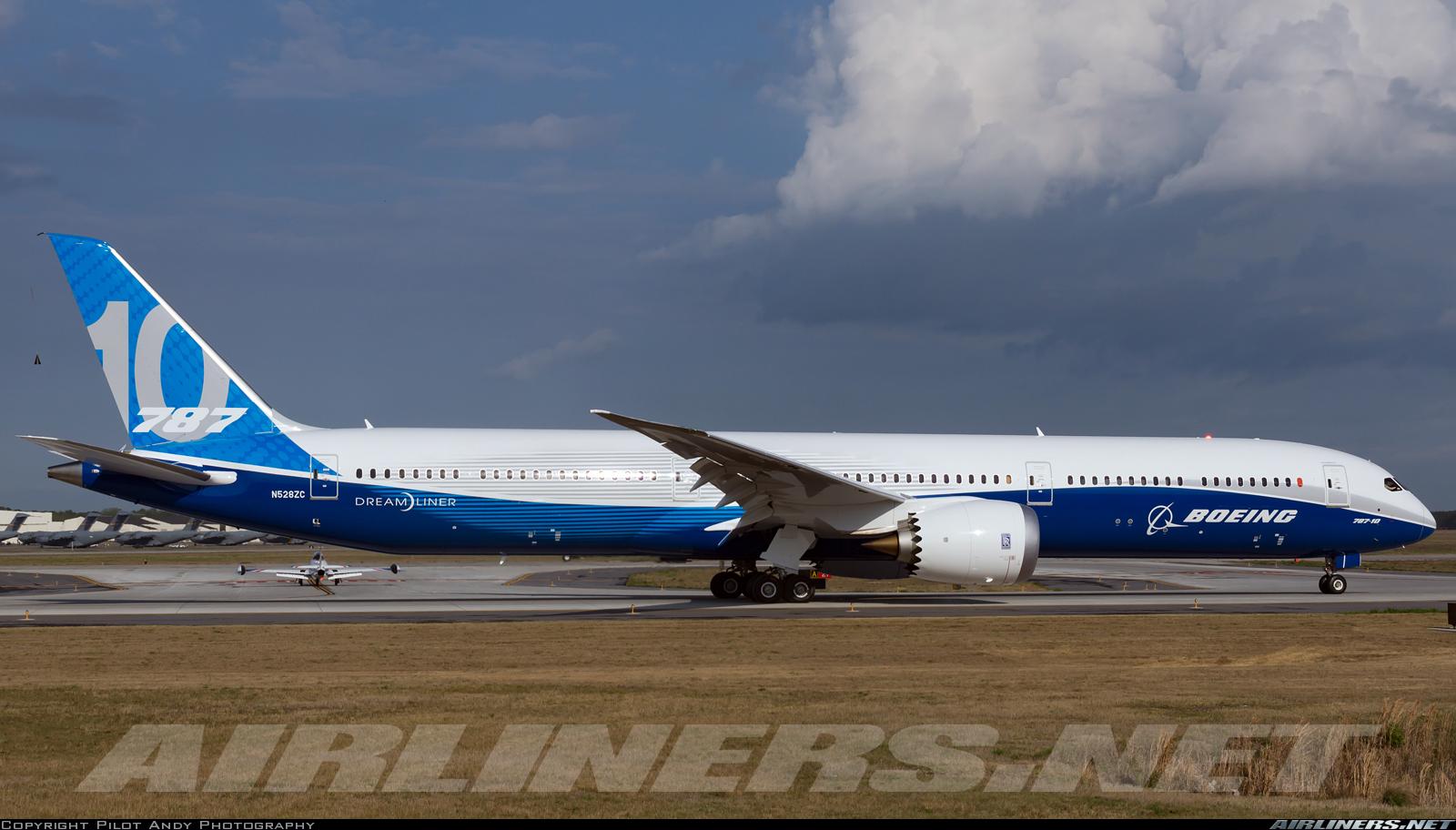 Boeing 787-10 Dreamliner - Boeing   Aviation Photo #4291115   Airliners.net