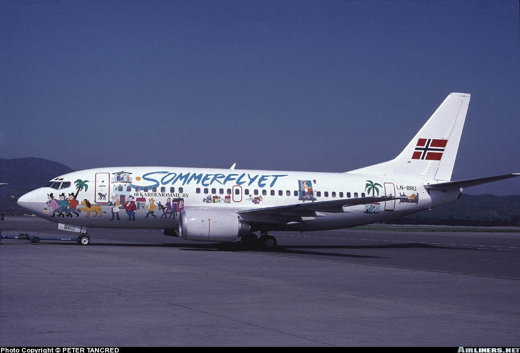 advertisement on aircraft livery