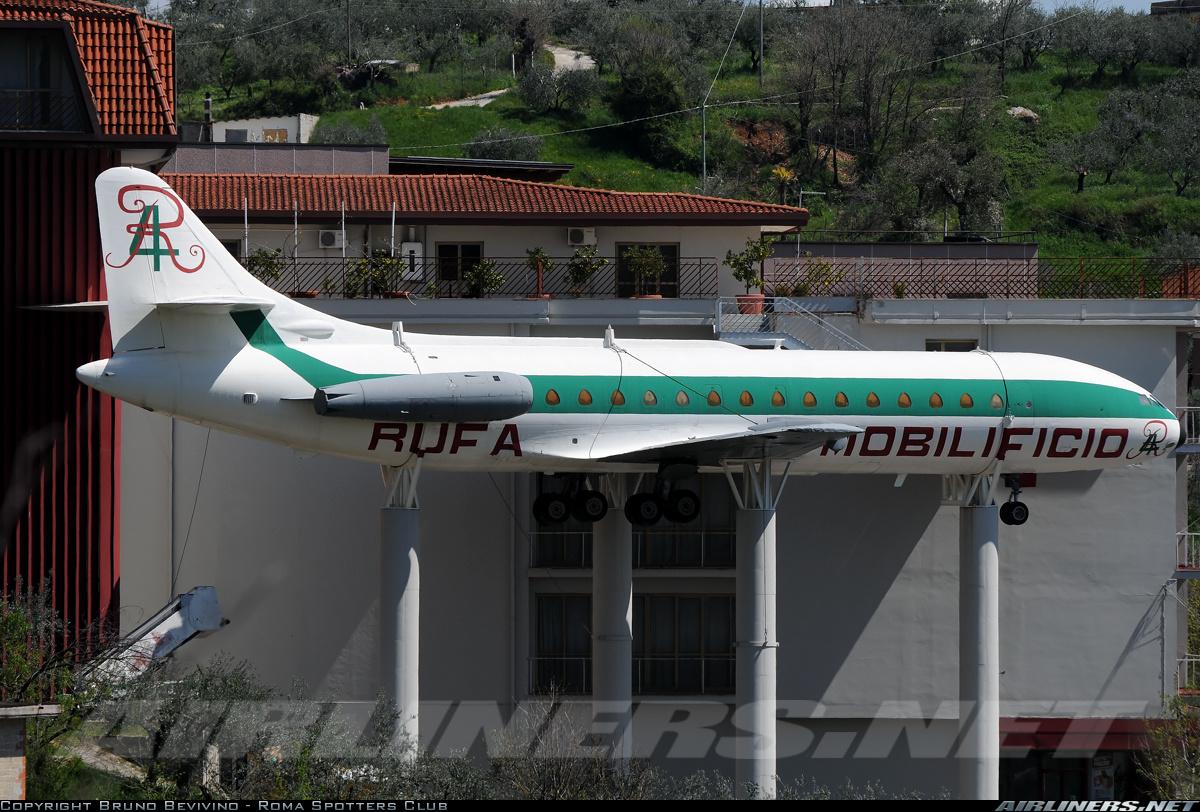 Sud SE210 Caravelle VIN  Rufa Mobilificio  Aviation
