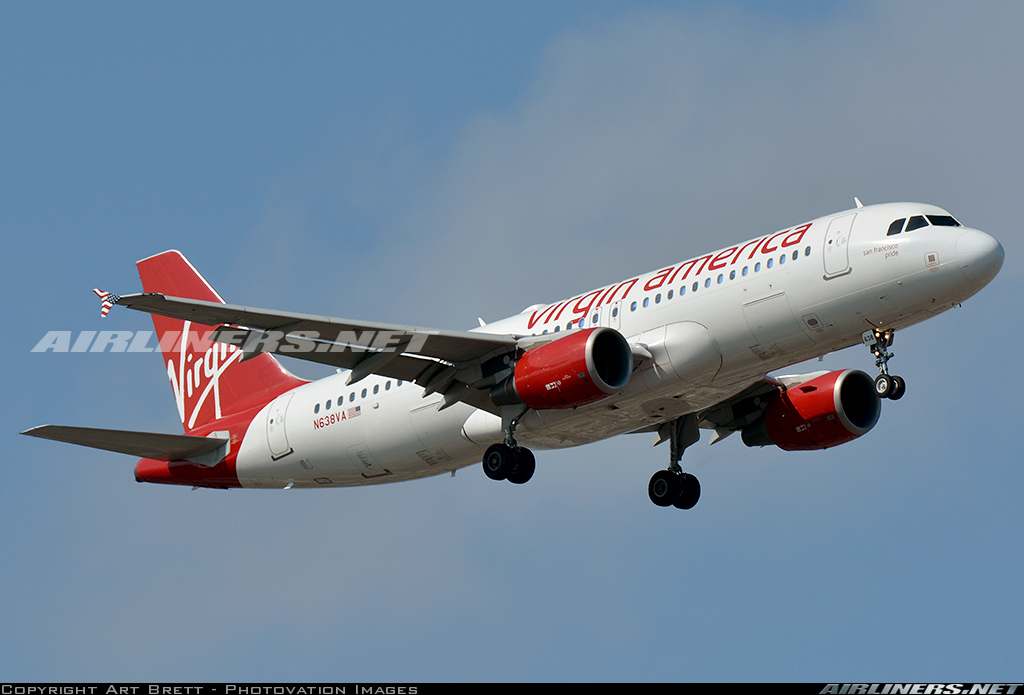 Virgin america tv total for Virgin america a321neo cabin