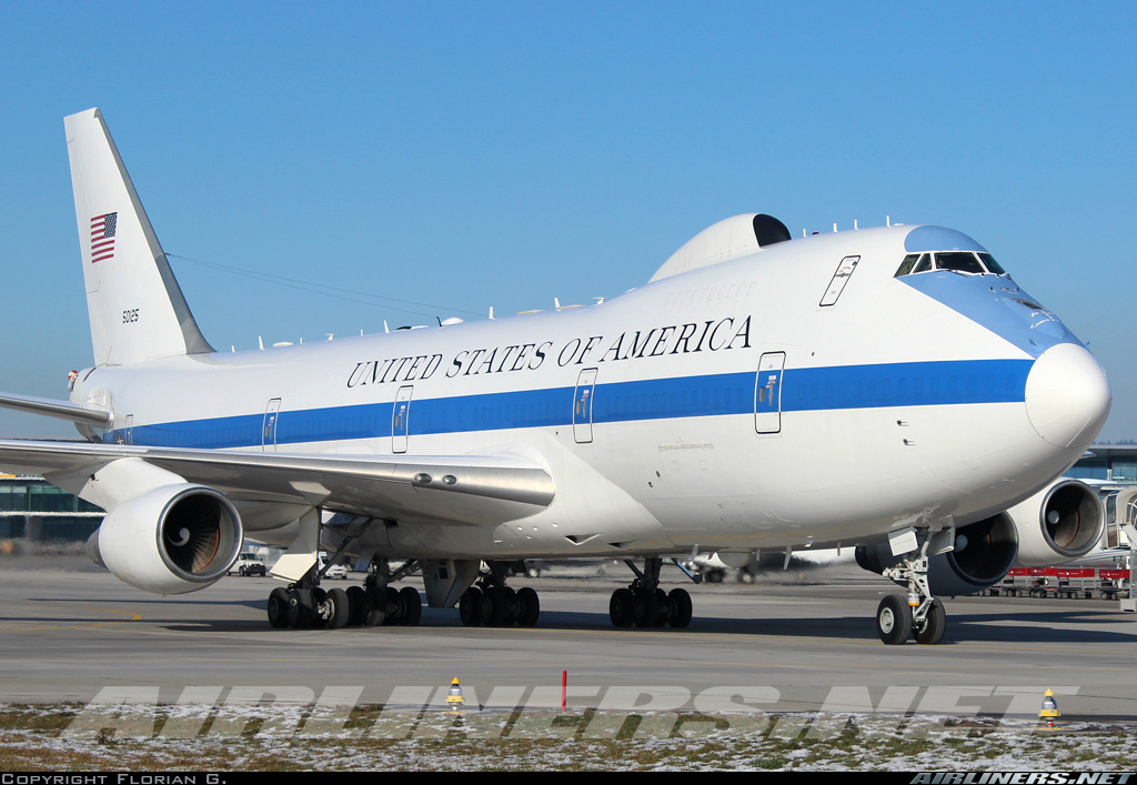 Boeing E-4B (747-200B) - USA - Air Force | Aviation Photo #2773048 | Airliners.net