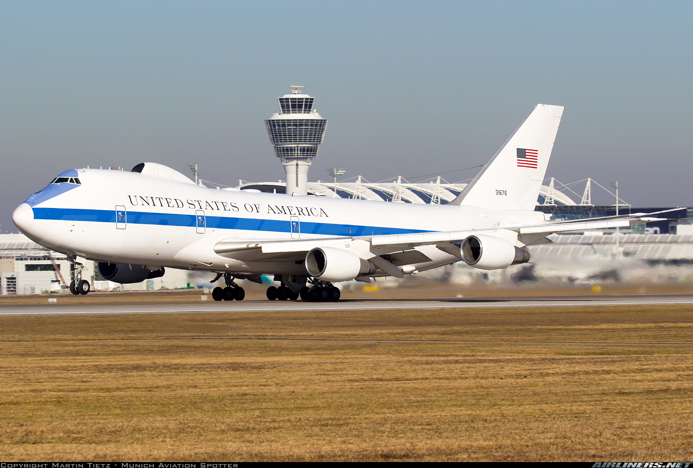 Boeing E-4B (747-200B) - USA - Air Force | Aviation Photo #5413809 | Airliners.net