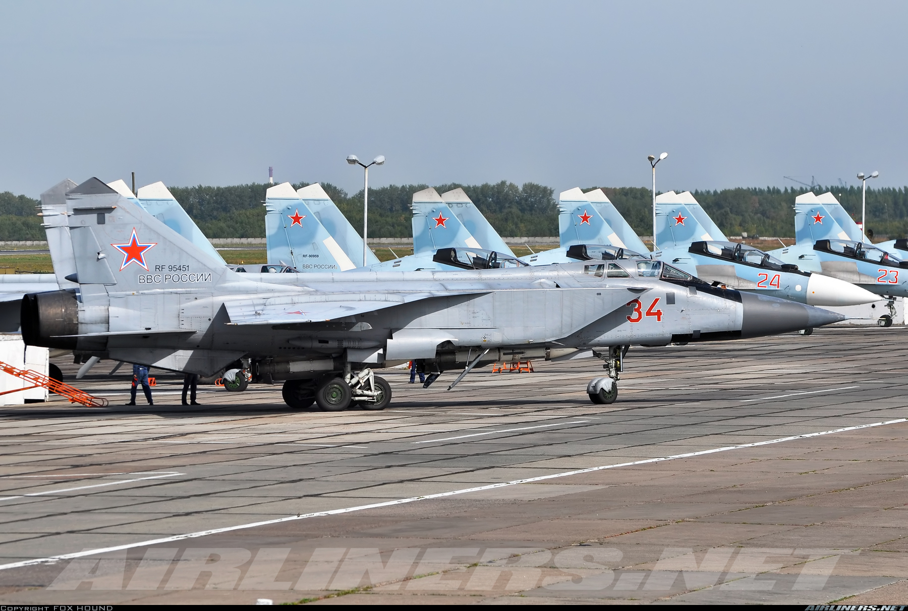 Mikoyan-Gurevich MiG-31BM - Russia - Air Force | Aviation Photo #4881259 | Airliners.net