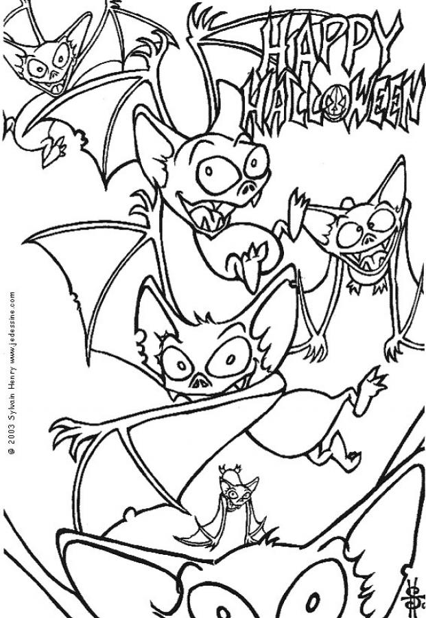 Halloween Morcegos