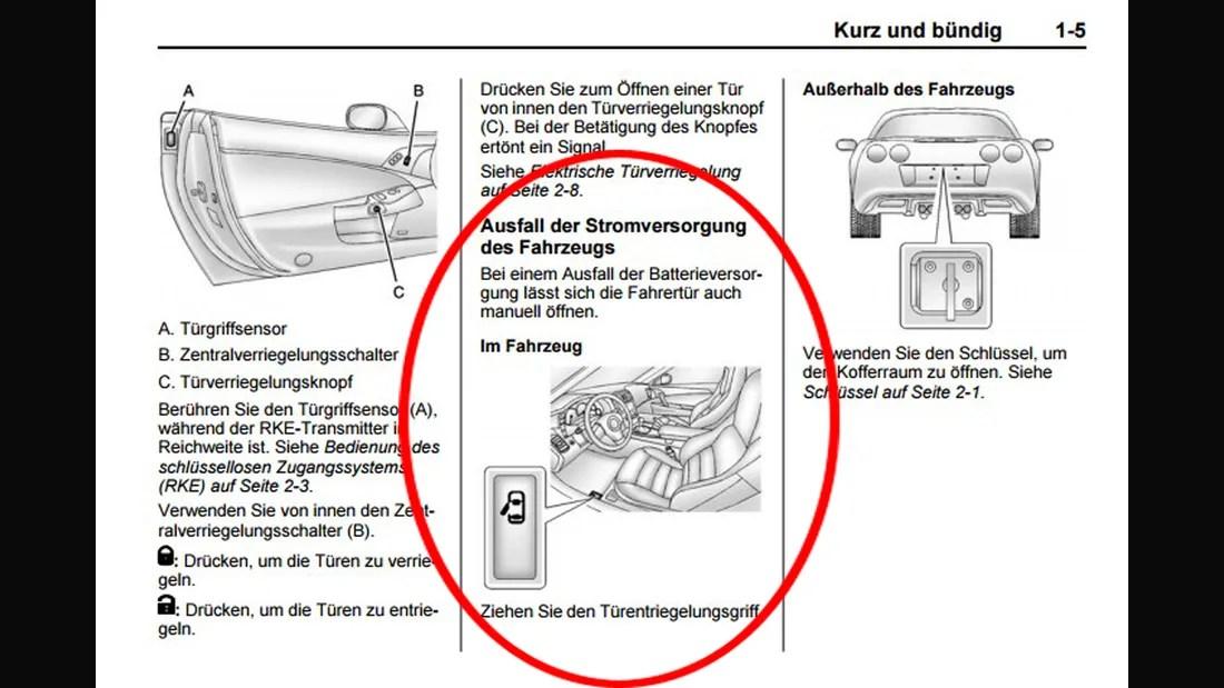 Bedienungsanleitung Opel Zafira B
