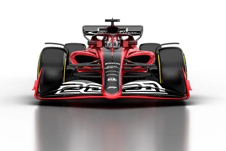 formel 1 auto 2021 bilder abmessungen