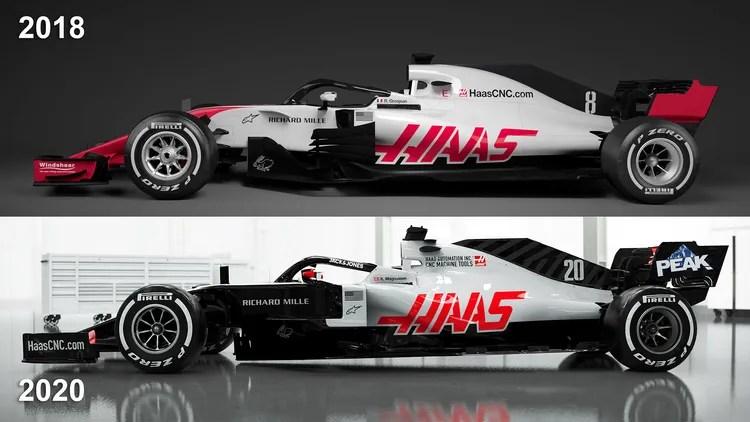 haas vf 20 f1 auto fur 2020 neuer
