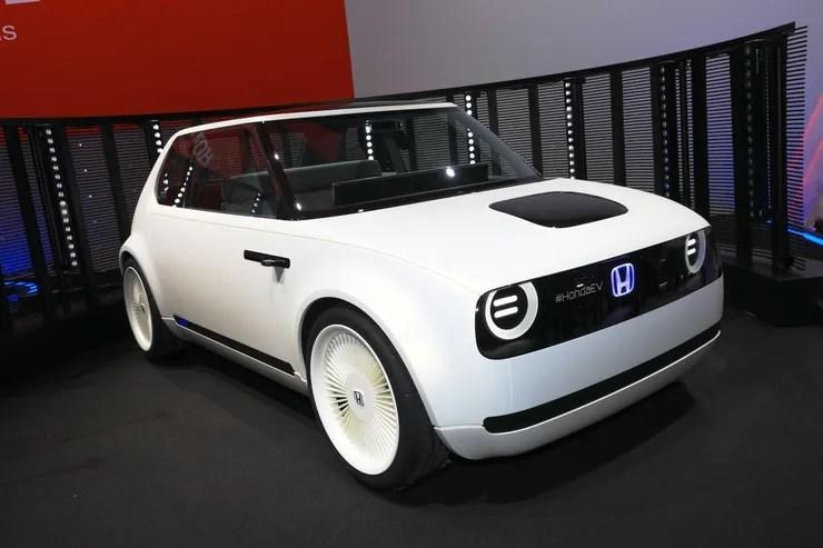 Honda Urban EV Concept Elektro Auto Fr Die Stadt Auto
