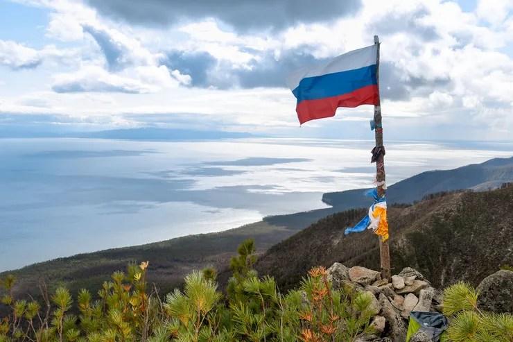 Camping in Russland am Baikalsee