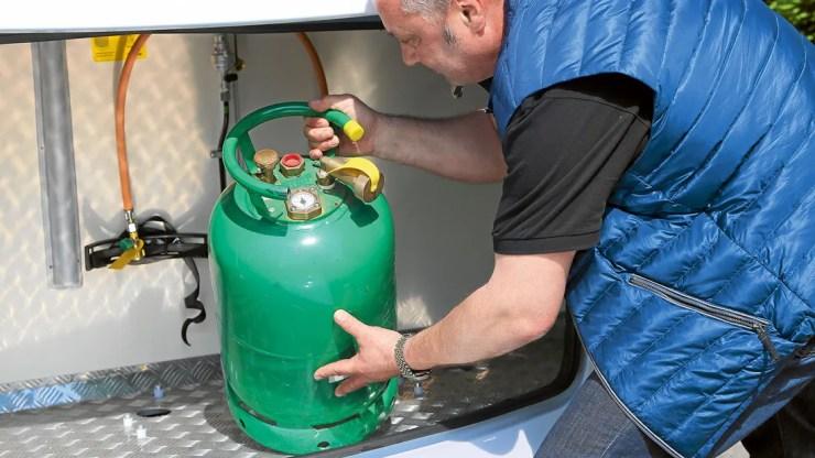 Alugas Tankflaschen Wohnmobil