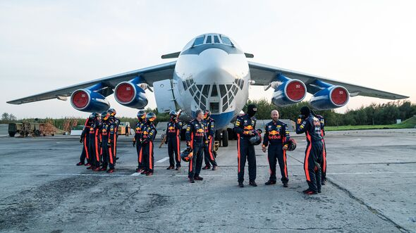 Red Bull pit stop in weightlessness - parabolic flight - 2019