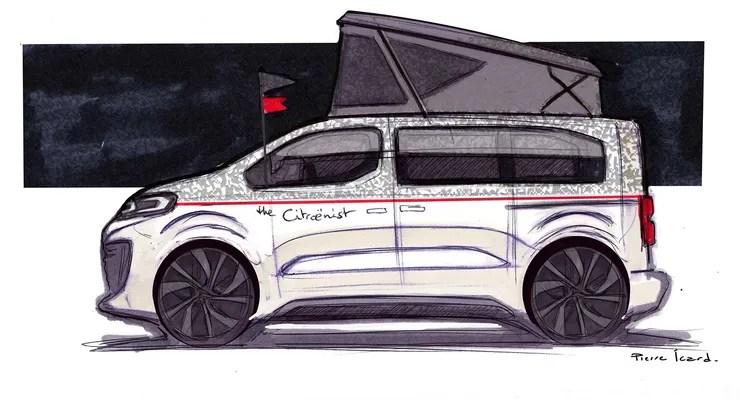 Spacecamper The Citroënist Concept