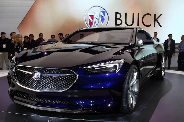Buick Avista Concept auf der Detroit Motor Show 2016