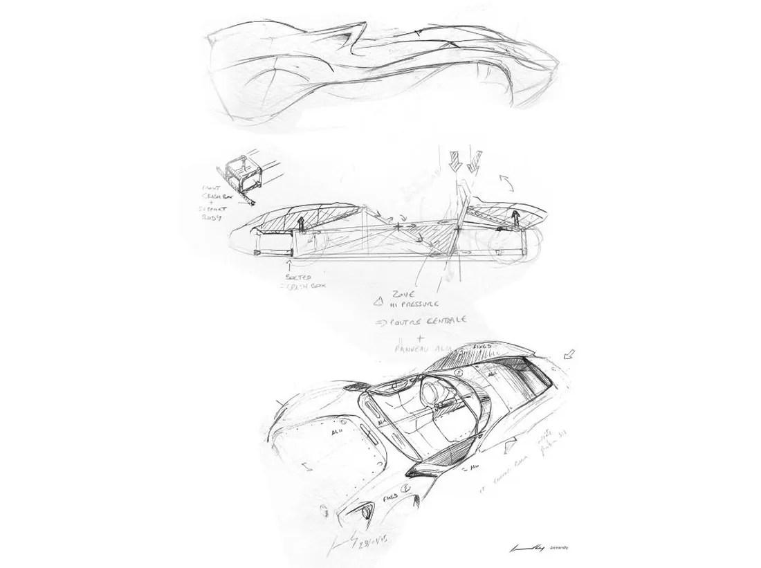 Jannarelly Design 1 Puristischer Retro Roadster