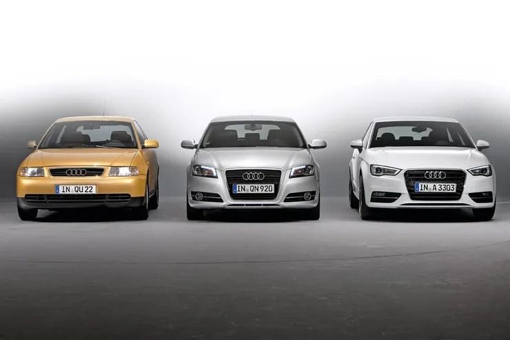 Audi A3 Generationen Vom Wuchtigen Ura3 Zum Oberklasse