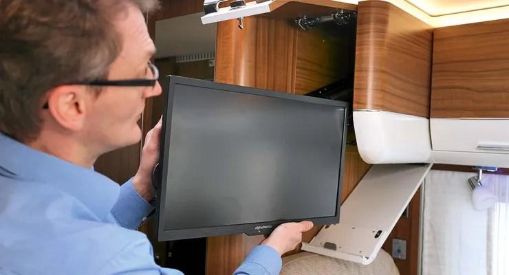 Tv Halterung Wohnmobil Höhenverstellbar