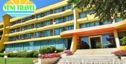 На море в Златни пясъци! 2 нощувки със закуски и вечери в хотел на първа линия, транспорт и посещение на Аладжа манастир