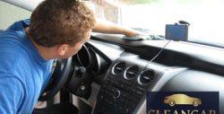 Цялостно почистване интериора на лек автомобил