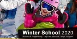 4 посещения на целодневно зимно училище за деца от 4 до 13г - с напитки, закуски, занимания и активности на открито и закрито