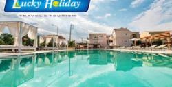 Почивка на остров Корфу! 5 нощувки със закуски и вечери в хотел Ekati Mare**** в Кавос