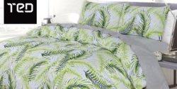 Двоен спален комплект с 5 части от 100% ранфорс - модел по избор и безплатна доставка