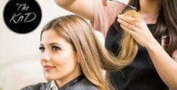 Грижа за косата! Масажно измиване, маска с ботокс за възстановяване, подстригване по метод Stephan и стайлинг