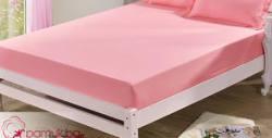 2 броя калъфки за възглавници или чаршаф с ластик - от памучен сатен и в цвят по избор