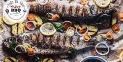 1кг ципура на BBQ Mibrasa, плюс гриловани зеленчуци - за вкъщи